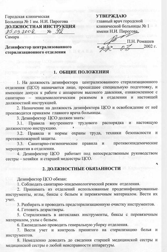 Должностная Инструкция Палатной Медсестры Психиатрического Стационара